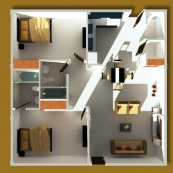 克拉克中心城别墅和公寓